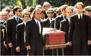 Il funerale di Ayrton Senna
