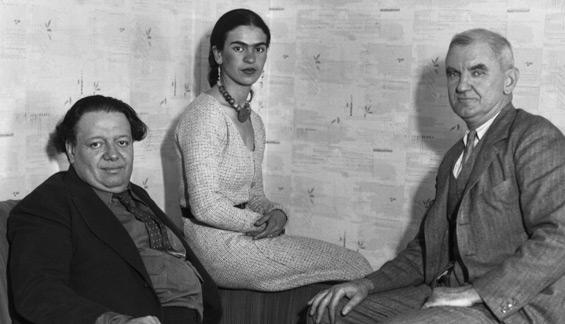 Diego Rivera, Frida Kahlo, Anson Goodyear