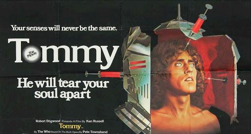 TOMMY  il Messia tra cinema e musica